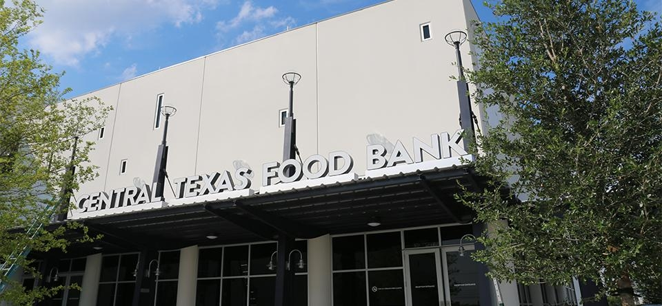 New Central Texas Food Bank building